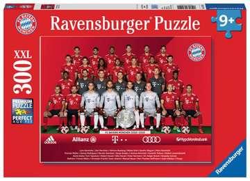 FC Bayern Saison 2018/19  300p Puzzle;Kinderpuzzle - Bild 1 - Ravensburger