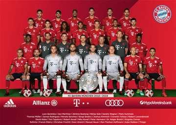 FC Bayern Saison 2018/19  300p Puzzle;Kinderpuzzle - Bild 2 - Ravensburger