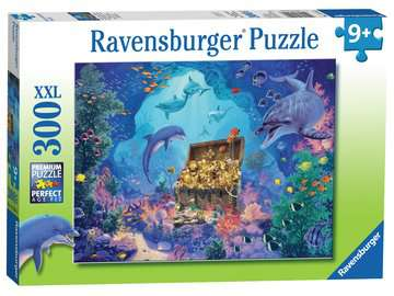 Deep Sea Treasure XXL300 Puzzles;Children s Puzzles - image 1 - Ravensburger