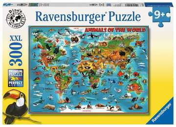 Animals of the World XXL 300pc Puzzles;Children s Puzzles - image 1 - Ravensburger