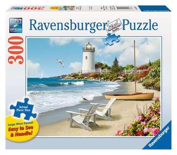 Plages ensoleillées Puzzles;Puzzles pour adultes - Image 1 - Ravensburger