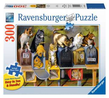 Cat`s Got Mail Jigsaw Puzzles;Adult Puzzles - image 1 - Ravensburger