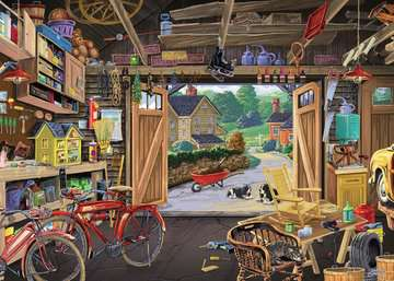 Grandpa's Garage Jigsaw Puzzles;Children s Puzzles - image 2 - Ravensburger