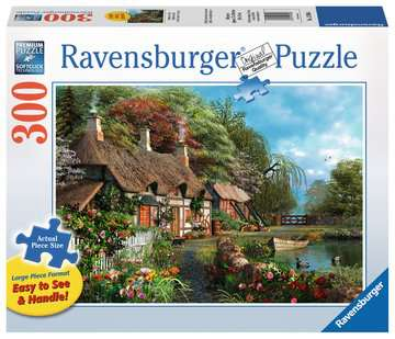 Cottage on a Lake Jigsaw Puzzles;Adult Puzzles - image 1 - Ravensburger