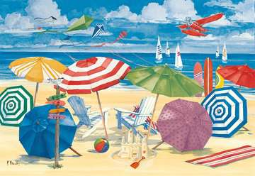 Meet Me at the Beach Jigsaw Puzzles;Adult Puzzles - image 2 - Ravensburger