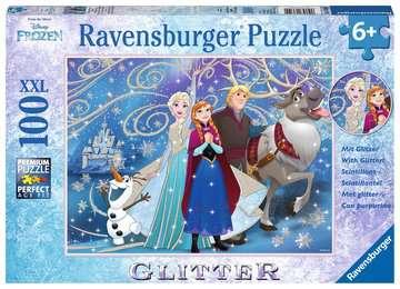 13610 Kinderpuzzle Frozen - Glitzernder Schnee von Ravensburger 1