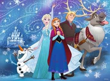 13610 Kinderpuzzle Frozen - Glitzernder Schnee von Ravensburger 3