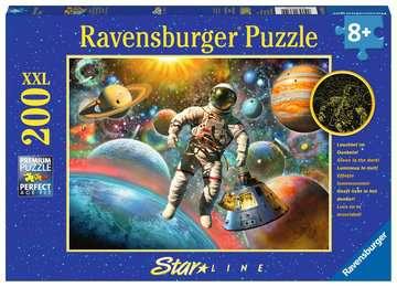 13612 Kinderpuzzle Ausflug ins All von Ravensburger 1