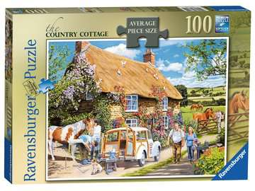 The Country Cottage, Large 100pc Puzzles;Adult Puzzles - image 1 - Ravensburger