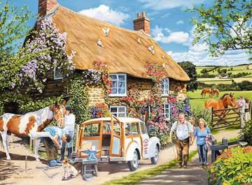 The Country Cottage, Large 100pc Puzzles;Adult Puzzles - image 2 - Ravensburger