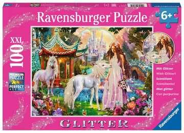 13617 Kinderpuzzle Im Reich der Blütenkönigin von Ravensburger 1