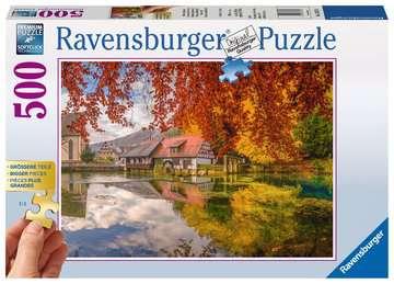 Mühle am Blautopf Puzzle;Erwachsenenpuzzle - Bild 1 - Ravensburger