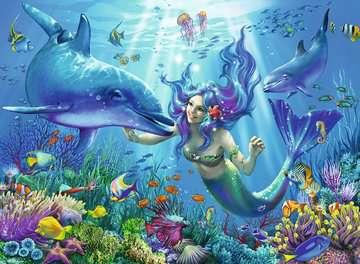 13678 Kinderpuzzle Leuchtendes Unterwasserparadies von Ravensburger 2
