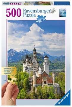 Märchenhaftes Schloss Neuschwanstein Puzzle;Erwachsenenpuzzle - Bild 1 - Ravensburger