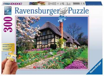 Country Cottage, 300pc Puzzles;Adult Puzzles - image 1 - Ravensburger