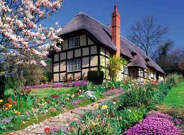 Country Cottage, 300pc Puzzles;Adult Puzzles - image 3 - Ravensburger