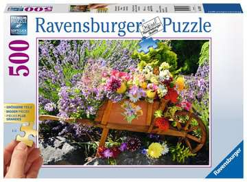 Blumenarrangement Puzzle;Erwachsenenpuzzle - Bild 1 - Ravensburger