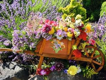 Blumenarrangement Puzzle;Erwachsenenpuzzle - Bild 2 - Ravensburger
