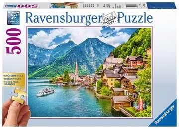Hallstadt, Austria, Extra Large 500pc Puzzles;Adult Puzzles - image 1 - Ravensburger