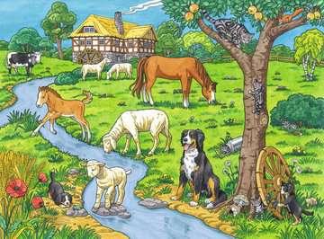 Liebste Bauernhoftiere Puzzle;Kinderpuzzle - Bild 2 - Ravensburger