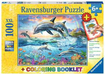 Vibrant Dolphins Jigsaw Puzzles;Children s Puzzles - image 1 - Ravensburger