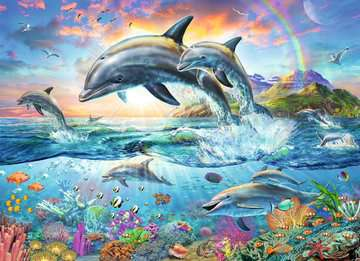 Vibrant Dolphins Jigsaw Puzzles;Children s Puzzles - image 2 - Ravensburger