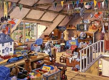 Oma's zolder Puzzels;Puzzels voor volwassenen - image 2 - Ravensburger