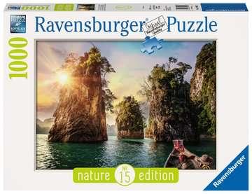 Three rocks in Cheow, Thailand Puzzle;Erwachsenenpuzzle - Bild 1 - Ravensburger