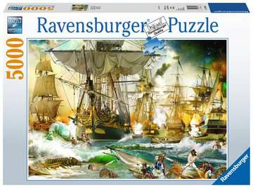 Battle on the High Seas Jigsaw Puzzles;Adult Puzzles - image 1 - Ravensburger
