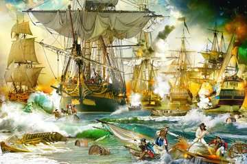 Battle on the High Seas, 5000pc Puzzles;Adult Puzzles - image 2 - Ravensburger