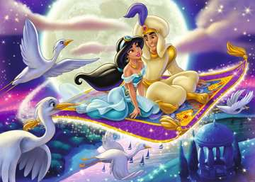 Puzzle 1000 p - Aladdin (Collection Disney) Puzzle;Puzzle adulte - Image 2 - Ravensburger