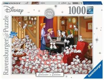 Disney Collector s Edition 101 Dalmations, 1000pc Puslespil;Puslespil for voksne - Billede 1 - Ravensburger