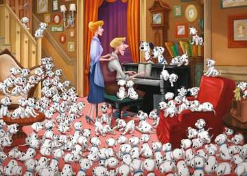 Disney Collector s Edition 101 Dalmations, 1000pc Puslespil;Puslespil for voksne - Billede 2 - Ravensburger