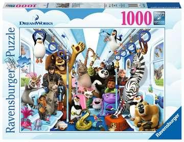 13975 Erwachsenenpuzzle DreamWorks Familie auf Reisen von Ravensburger 1