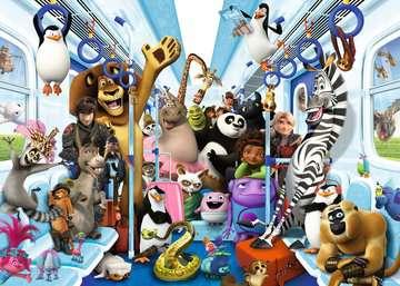 13975 Erwachsenenpuzzle DreamWorks Familie auf Reisen von Ravensburger 2