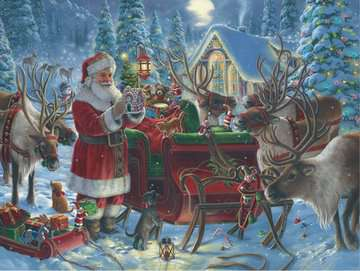 Packing the Sleigh Jigsaw Puzzles;Adult Puzzles - image 2 - Ravensburger