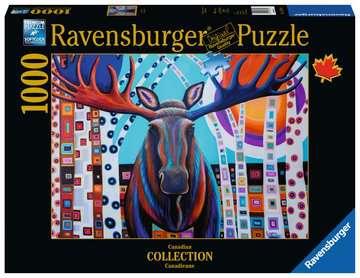 élan d hiver Puzzles;Puzzles pour adultes - Image 1 - Ravensburger