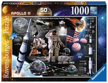 Moon Landing 50th Anniversary, 1000pc Puzzles;Adult Puzzles - image 1 - Ravensburger