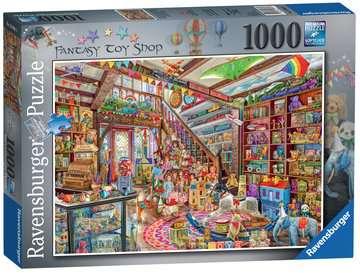 The Fantasy Toy Shop, 1000pc Puslespil;Puslespil for voksne - Billede 1 - Ravensburger