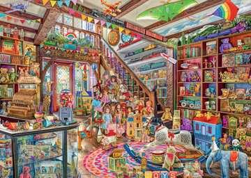 The Fantasy Toy Shop, 1000pc Puslespil;Puslespil for voksne - Billede 2 - Ravensburger