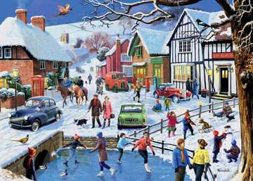 Leisure Days No.3 The Winter Village, 1000pc Puzzles;Adult Puzzles - image 3 - Ravensburger