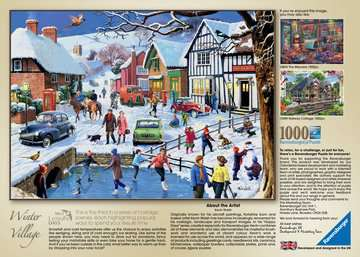 Leisure Days No.3 The Winter Village, 1000pc Puzzles;Adult Puzzles - image 4 - Ravensburger