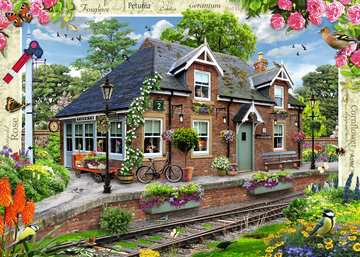 Country Cottage Collection - Railway Cottage, 1000pc Puzzles;Adult Puzzles - image 2 - Ravensburger