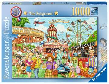 Best of British - The Fairground, 1000pc Puzzles;Adult Puzzles - image 1 - Ravensburger