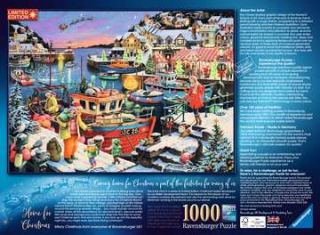 Home for Christmas! Limited Edition 2019, 1000pc Puzzles;Adult Puzzles - image 4 - Ravensburger