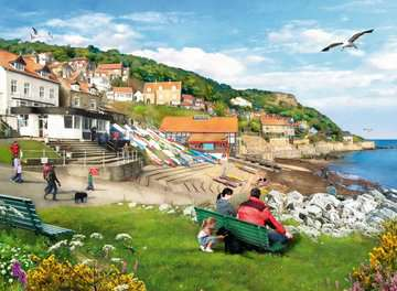 Picturesque Yorkshire 2x500pc (Whitby & Runswick Bay) Puzzles;Adult Puzzles - image 2 - Ravensburger