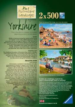 Picturesque Yorkshire 2x500pc (Whitby & Runswick Bay) Puzzles;Adult Puzzles - image 4 - Ravensburger