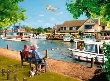 Picturesque Norfolk 2x500pc (Cromer & Horning) Puzzles;Adult Puzzles - image 2 - Ravensburger