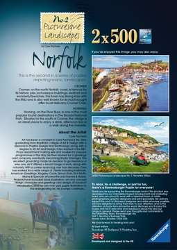 Picturesque Norfolk 2x500pc (Cromer & Horning) Puzzles;Adult Puzzles - image 5 - Ravensburger