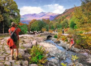 Picturesque Cumbria, 2x500pc Puzzles;Adult Puzzles - image 2 - Ravensburger